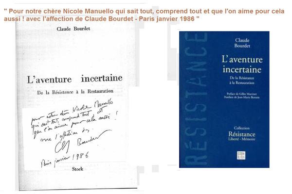 Frappe manuscrit Bourdet