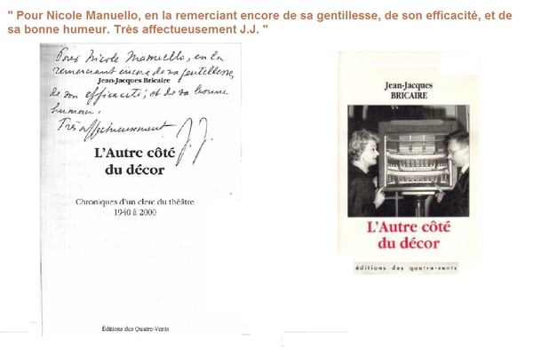 Frappe manuscrit Bricaire