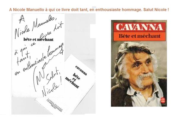 Frappe manuscrit Cavanna
