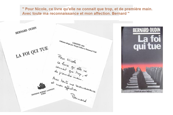 Frappe manuscrit Oudin